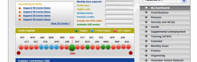 IUOE 478 Taft-Hartley Participant Member Dashboard