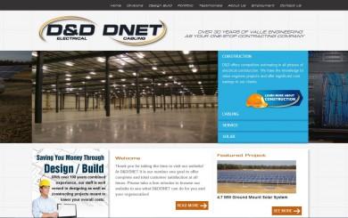 D&DNet Website Screenshot