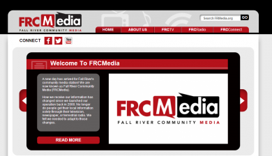 Fall River Community Website Design