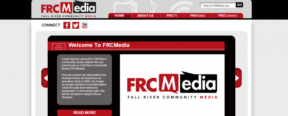Fall River Community Website Design