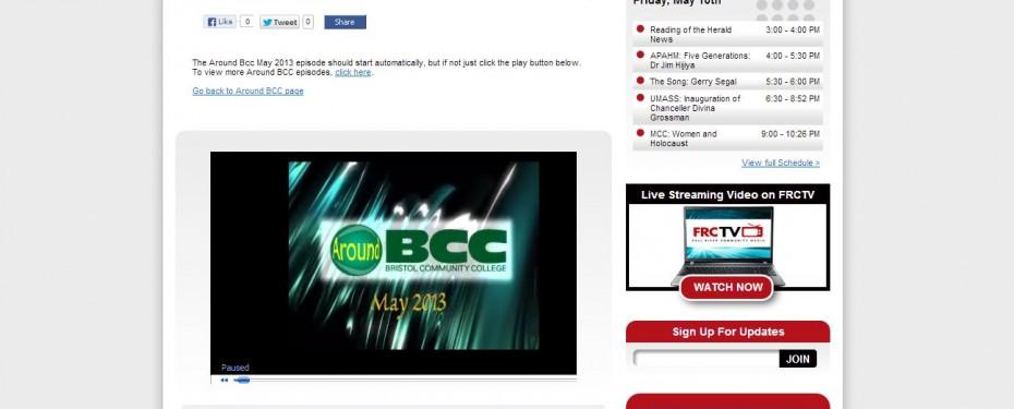 Fall River Community Media VOD Integration
