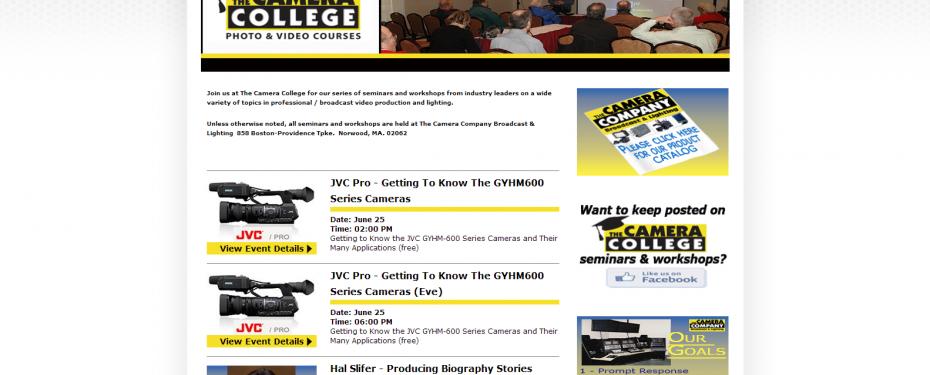 Camera Company Camera College
