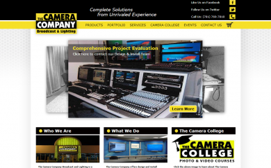 Camera Company Screenshot