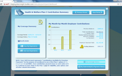 Health and Welfare Summary Eligibility