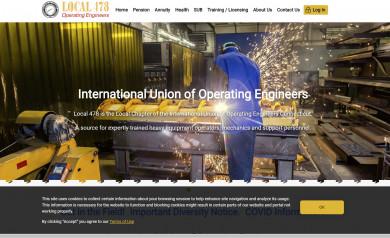 IUOE Local 478 Public Website Home Page
