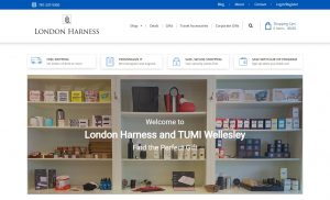 London Harness E-Commerce Gifts